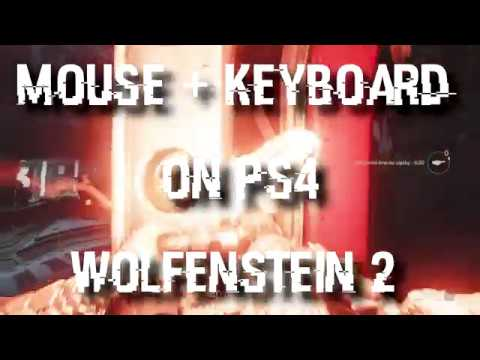 Playing Wolfenstein 2 on PS4 using Mouse - GIMX!