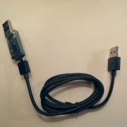 GIMX adapter, CP2104 side